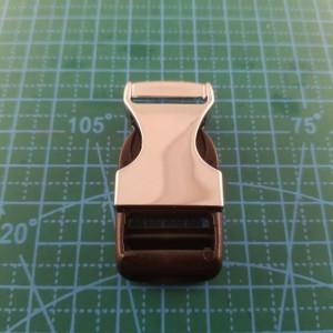 20 мм фастэкс 5477  темный никель металл+пластик.