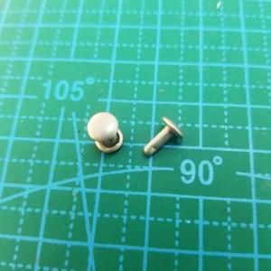 6-6-6 мм хольнитен двухсторонний  матовый никель
