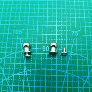 Кабурная кнопка 8 мм. арт.5537 никель.