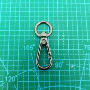 Карабин 10 мм 071-072 черный никель.