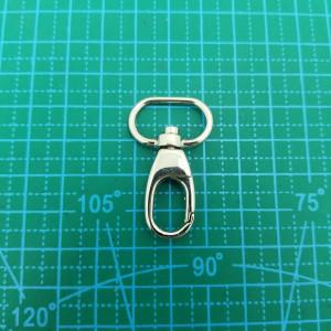 Карабин 15 мм 392 цвет никель