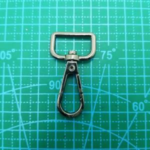 20 мм Карабин арт.В071-093 черный никель.