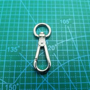 10 мм Карабин   071-072 никель.