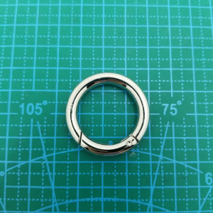Кольцо 25 мм 5256  никель