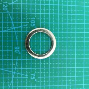 Кольцо 25 мм 5446 никель литое