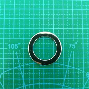 Кольцо литое 2 арт.5233 никель
