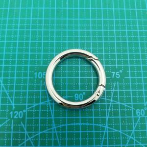 Кольцо 35 мм 5213 никель разъёмное.