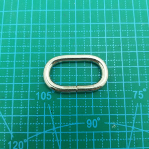 Овал 32 мм проволока никель.