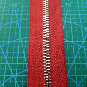 148-5 Молния металлическая №5 цвет ткани 148, зуб никель .