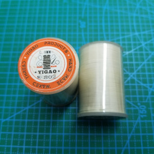 802 Нитки вощеные толщина 0,8 мм круглая беж.светлый
