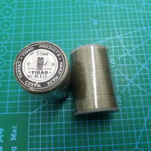 810 Нитки вощеные толщина 0,55 мм хаки.