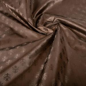 Подкладка коричневая полиэстер таффета SH7BG