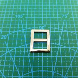 Пятистенок 15 мм арт 713 никель.