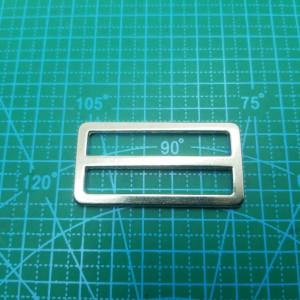 Рамка -пятистенок 50 мм никель