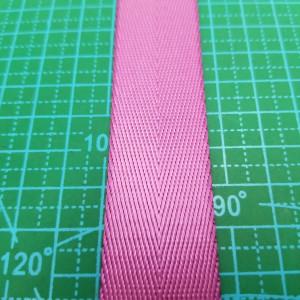 25 мм Стропа ременная №29 розовая.