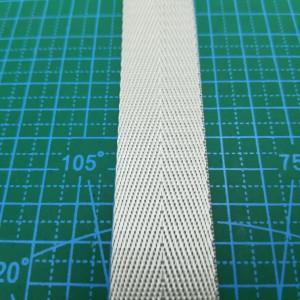 25 мм Стропа ременная серебро