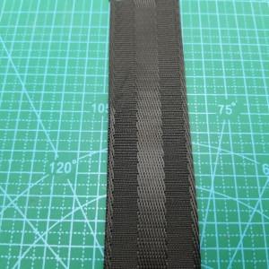 38 мм Стропа черный рисунок колесо