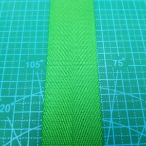 38 мм Стропа ременная №26 светло-зеленая.