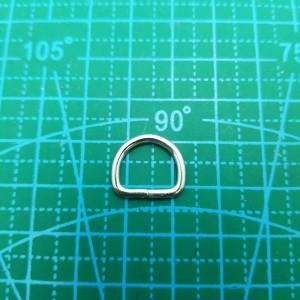 Полукольцо 12-10-2 мм никель.