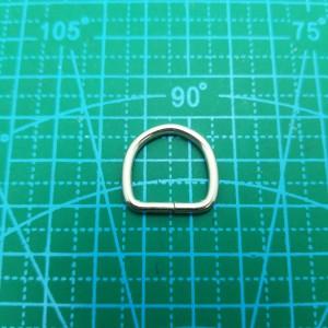 Полукольцо 15-15-3 мм никель.