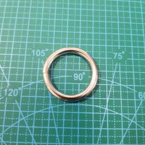 30-5 мм Кольцо сварное никель.