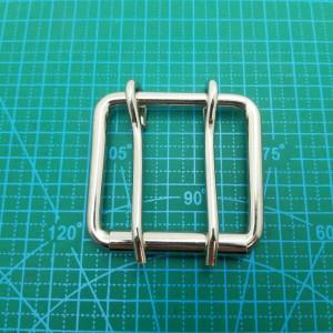 50-40-5,5 мм Пряжка сварная, никель, двухшпеньковая.