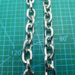 Цепь стальная 12-10-3,5 мм никель.