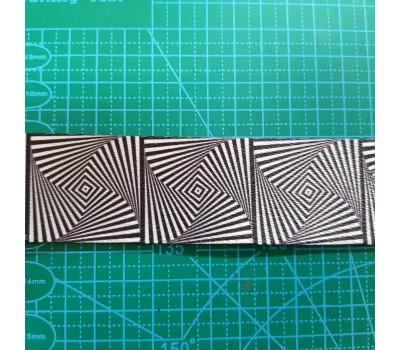 стропа 38 мм цветная чер-сер. иллюзия