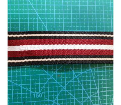 стропа 38 мм цветная полоса