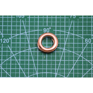 люверс (24) 16,5*10*5 мм золото