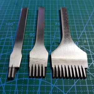 Строчные косые пробойники 3 мм.