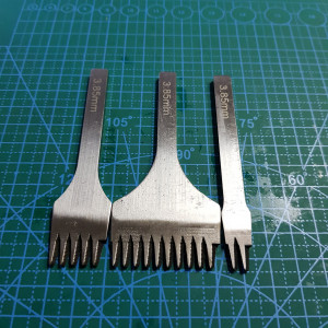 Строчные косые пробойники 3,85 мм.