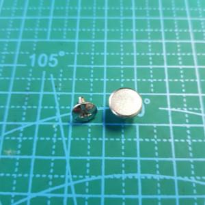 Винты для ремней никель 9 мм