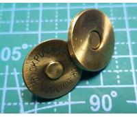 магнитная кнопка 18 мм антик