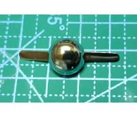 Пукля 12 мм никель