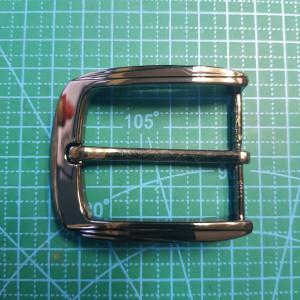 Пряжка ременная 40 мм FG001194 цвет черный никель