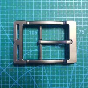 Пряжка ременная 40мм FG003086 цвет черный матовый  никель