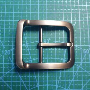 Пряжка ременная 40мм FG004745 цвет черный матовый  никель