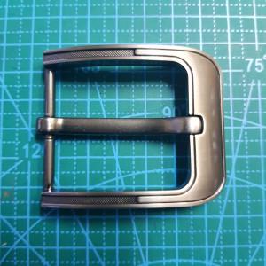 Пряжка ременная 40мм FG003051 цвет черный матовый никель