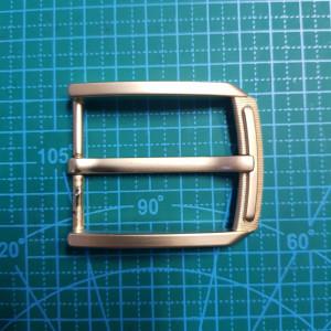 Пряжка ременная 40мм FG002317 цвет черный никель
