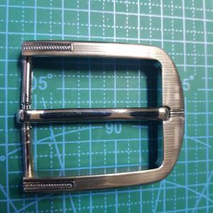 Пряжка ременная 40мм FG000105 цвет  никель