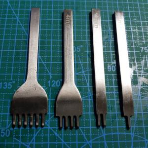 Строчные ромбовидные пробойники 1-2-4-6 4 мм.