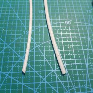 Шнур d 3-3,5 мм плотный жесткий