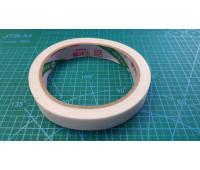 15 мм скотч на тканевой основе (19 метр. 17шт.в уп.)белый