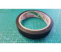 25 мм скотч на тканевой основе (19 м 10шт.в уп).черный