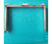 рамка металлическая на женскую сумку 18*12 см цвет золото