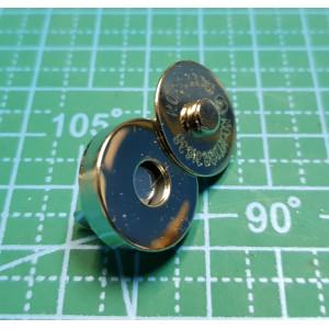 магнитная кнопка 18 мм никель толстый