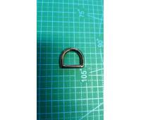 полукольцо 15 мм 314 черн.никель литое