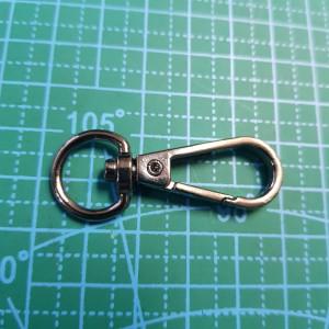 Карабин 10 мм арт.КО7.00-033 черный никель