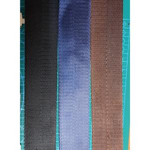 Cтропа 38 мм ременная на сумку цвет синий елочка